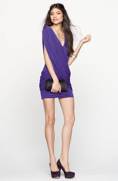 Cute going out dress. Kinda reminds me of a sari too!    BCBGMAXAZRIA Dress & Accessories | Nordstrom