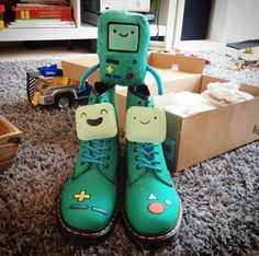 The BMO Boot. Shared by bobbenblog.