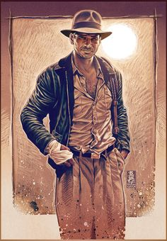 Indiana Jones by Mark Brooks