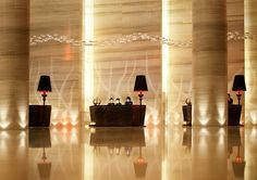 Le Meridien Hotel Lobby in Chongqing, China | @Karuna @ Painted & Patched @ Painted & Patched Sudachit