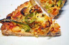 Manias de uma Dietista: Meatzza...Uma espécie de pizza com base de carne, sem qualquer tipo de farinha
