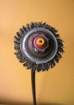 Metal Flower, Recycled Art Object