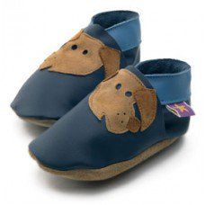 Rover Navy Soft Leather Baby Shoes Made and supplied by Star Child Shoes in #Leicestershire - £18.00