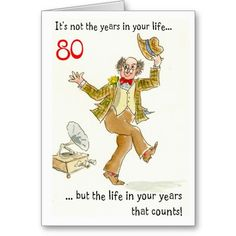 Life In Your Years 80th Birthday Card
