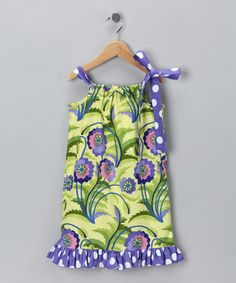 Take a look at this Daisy Plum Ruffle Pillowcase Dress - Infant, Toddler & Girls by Lil'Daisies on #zulily today!