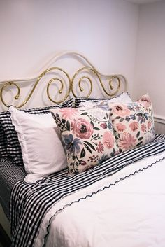 Plans for Our Guest Room with Mattress Firm - Sequins & Stripes