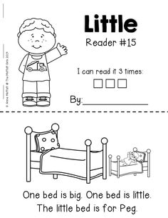 Emergent Readers that incorporate SIGHT WORDS and simple WORD FAMILIES!  Perfect for BEGINNING readers!