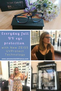 Everyday full UV eye protection with New ZEISS UVProtect Technology E Commerce Business, Eye Protection, Optician, Zeiss, Mom Blogs, Really Cool Stuff, In This Moment, Technology, Blogging