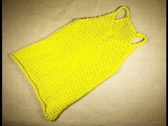 How to Loom Knit a Tank Top (DIY Tutorial) - http://www.knittingstory.eu/how-to-loom-knit-a-tank-top-diy-tutorial/
