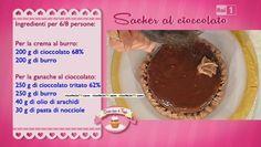 Sacher al cioccolato Biscotti, Muffin Cupcake, Desserts, Anna, Cream, Tailgate Desserts, Deserts, Postres, Dessert