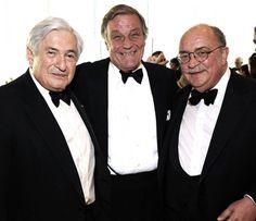 Peter Duchin with James Wolfensohn & Peter Frelinghuysen