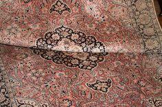 PERSKI RĘCZNY DYWAN - NATURALNY JEDWAB 1,55/2,50m - 5460649315 - oficjalne archiwum allegro