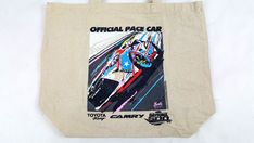 Toyota Racing Daytona 500 2016 promo tote canvas bag Collectible #Toyots