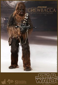Star Wars Chewbacca Sixth Scale Figure by Hot Toys | Awesome Chewie Fig Sideshow Collectibles