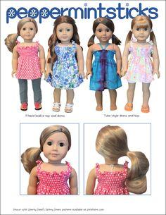 "It's Shirr Fun! 18"" Doll Clothes"