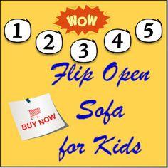 Flip Open Sofa for Kids