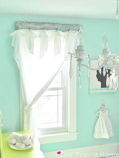 DIY Shabby Chic | DIY-SHABBY CHIC / DIY: Shabby Window Treatments