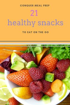 21 Healthy Snacks to Eat on the Go! Conquer meal prep once and for all. Snacks are an important part of staving off the hangries and staying on track! Check out these meal prep snacks! Snacks For Work, Healthy Work Snacks, Healthy Meal Prep, Healthy Habits, Healthy Eating, Healthy Recipes, Clean Eating, Diet Snacks, Skinny Recipes