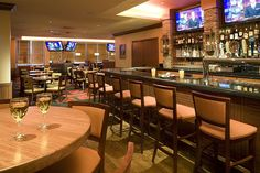 All New Sporting News Grill Restaurant and Bar, opened July 08 - features 16 Plasma TV's political events