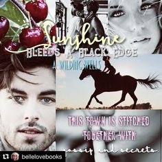 Ahh! Beautiful ! Thank you love! #Repost @bellelovebooks  This book was seriously amazing! Couldn't put it down! The suspense was INTENSE and the characters were powerful. I loved every page and was on the edge of my seat and biting my nails til the end! @awildingwells thank you for your words which continue to amaze me!  here's to sunshine and rock paper scissors!  #AWildingWells #SunshineBleedsABlackEdge #RebelAndRuby
