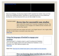 Oxford University Press' email doesn't look too shabby with images off! New Mobile, Email Design, Professional Development, Case Study, Email Marketing, Oxford, Shabby, University, Things To Come