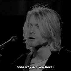 Kurt Cobain gif