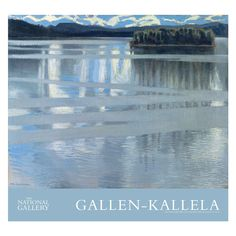 £12.50 - Lake Keitele Poster. This poster print features Akseli Gallen-Kallela's Lake Keitele. A leading figure in modern #Finnish painting, #GallenKallela first worked at Lake Keitele, north of #Helsinki, in summer 1904. This landscape is his third and most elaborate depiction of the lake, and he exhibited it in Helsinki that same year. #HolidayInAPainting