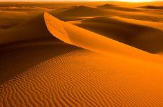 As estrias das dunas servem como inspiração