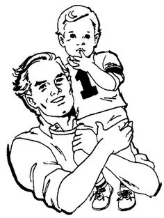 My Dad - True story by Troy Crouch - Christian Stories Coloring Pages, Coloring For Kids, Mother Son Love, Christian Stories, Sketches Of Love, Digi Stamps, Digital Image, My Dad, True Stories