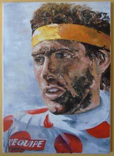 Olieverfschilderij Lucien Van Impe te koop t.v.v. Kom op tegen Kanker
