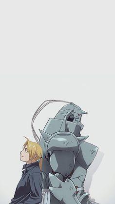 Brothers | Edward & Alphonse Elric | Fullmetal Alchemist Brotherhood | #FMAB | #anime