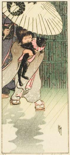 "Helen Hyde (1868-1919)   ""Уважаемый господин кот"""