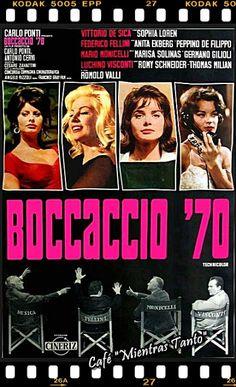 """Cine Sala """"Charles Chaplin"""": Bocaccio 70 (1962)... Ingresa a la sala pulsando el Link: http://cine-sala-a01-jcp.blogspot.com/2015/06/bocaccio-70-1962-video-dir-vittorio-de.html"""