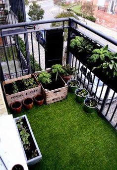 Una buena idea: Pon césped artificial en tu terraza | Decorar tu casa es facilisimo.com