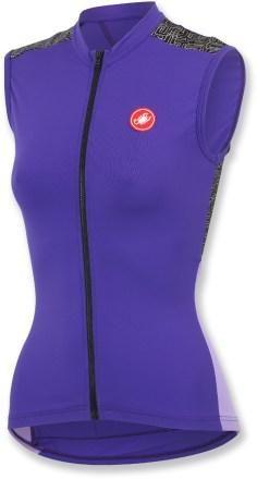 Castelli Scarabocchio Sleeveless Full-Zip Bike Jersey - Women's - 2104 Closeout - REI.com