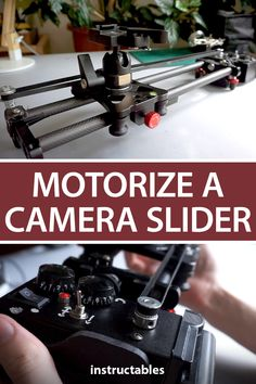 Handy_Bear upgraded a camera slider to be motorized and battery powered. #Instructables #electronics #technology #Arduino #photography Photography Projects, Photography Tips, Camera Slider, Electronics Projects, Arduino, Sliders, Digital Camera, Cool Stuff, Diy