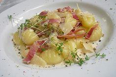 Gnocchi à la Panna, ein leckeres Rezept aus der Kategorie Pasta & Nudel. Bewertungen: Durchschnitt: Ø Gnocchi, Panna Recipe, Potato Salad, Pasta Salad, Clean Eating, Food And Drink, Veggies, Lunch, Stuffed Peppers