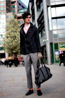Sweet World Of Fashion: Men Street Style