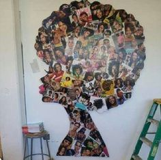 Cool Hair magazine Afro collage