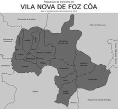 Freguesias do concelho de Vila Nova de Foz Côa