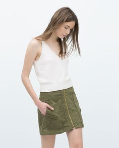 ZARA - WOMAN - MINI SKIRT