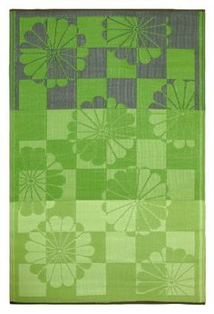 Fab Habitat 6-Feet by 9-Feet Tahiti Indoor/Outdoor Rug, Green by Fab Habitat - Fab Rug. $108.00. Washable: just shake or hose off for easy cleaning. Actual colors may vary from the image(s) shown due to manufacturing limitations. Reversible: change the look of your decor. Suitable for indoor and outdoor uses; Lightweight: comes with jute bag. Woven from straws made up of recycled plastic. These beautifully crafted rugs are made following the fair trade principles. Fab R...