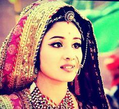 Paridhi Sharma as Jodha.