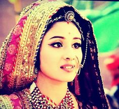 Paridhi Sharma as Jodha.