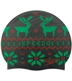 Speedo Ugly Sweater Silicone Swim Cap