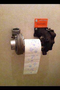 Man Cave Bathroom Idea!