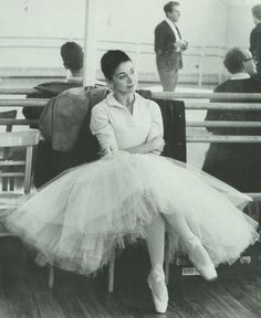 "Ballerina Margot Fonteyn. She was one of only 11 dancers to ever earn the rare & honored titled ""Prima Ballerina Assoluta."""