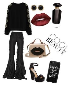 Day 2 by trixievogue on Polyvore featuring polyvore Marco de Vincenzo Steve Madden Gucci Casetify Lime Crime Victoria's Secret fashion style clothing