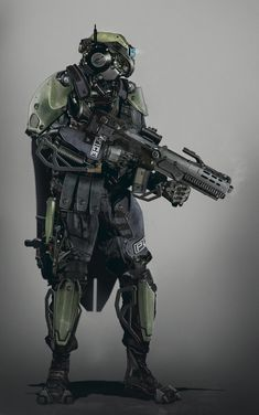 future soldier robot, Tsvetomir Georgiev