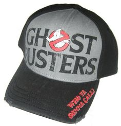 The Ghostbusters hat! <3